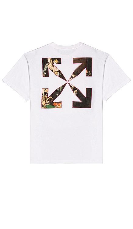 CARAVAGGIO 티셔츠 OFF-WHITE $335