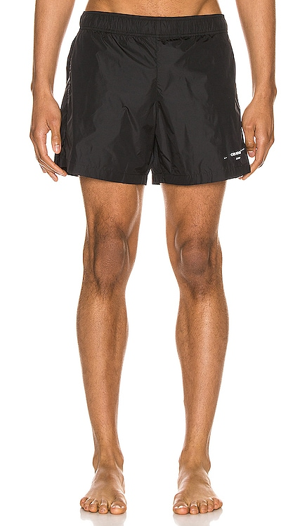 Seasonal Logo Swimshorts OFF-WHITE $310