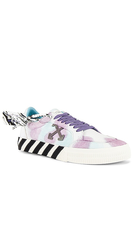 Tie Dye Low Vulcanized Sneaker OFF-WHITE $305