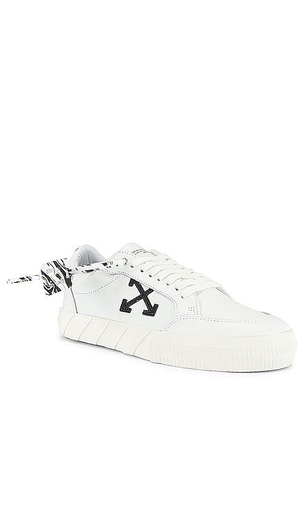 Low Vulcanized Sneaker OFF-WHITE $400 NEW