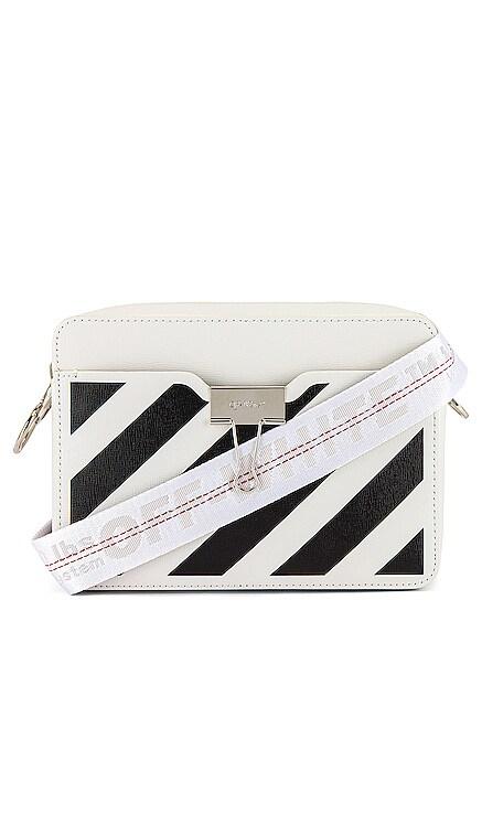 Diagonal Camera Bag OFF-WHITE $915