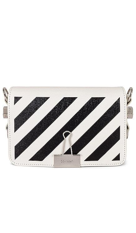 Diagonal Mini Flap Bag OFF-WHITE $816