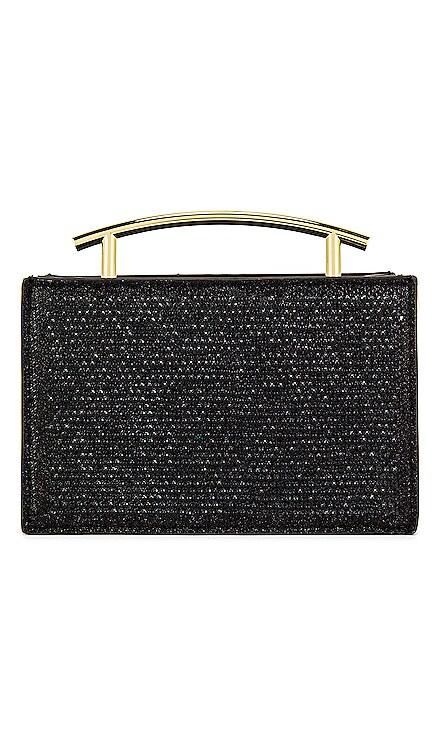Sofia Hotfix Metal Handle Evening Bag olga berg $110