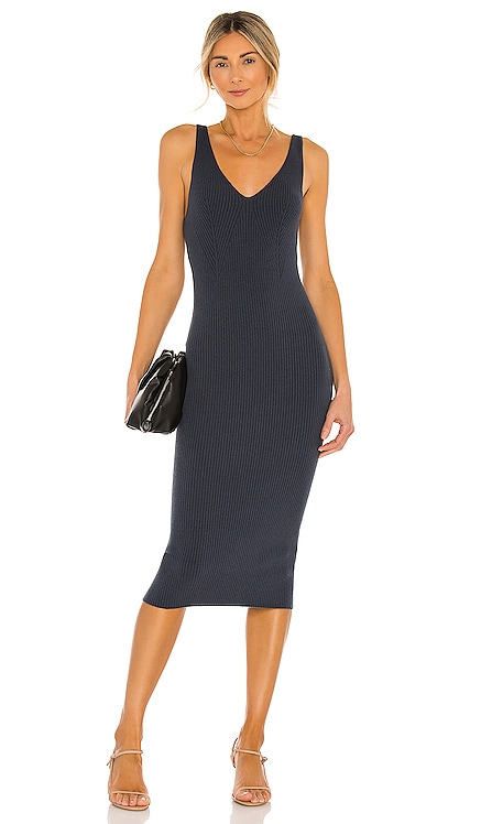 Pacey Dress One Grey Day $188 NEW