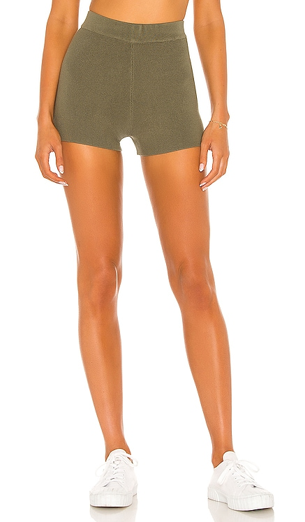 X REVOLVE Colette Mini Short One Grey Day $108 NEW