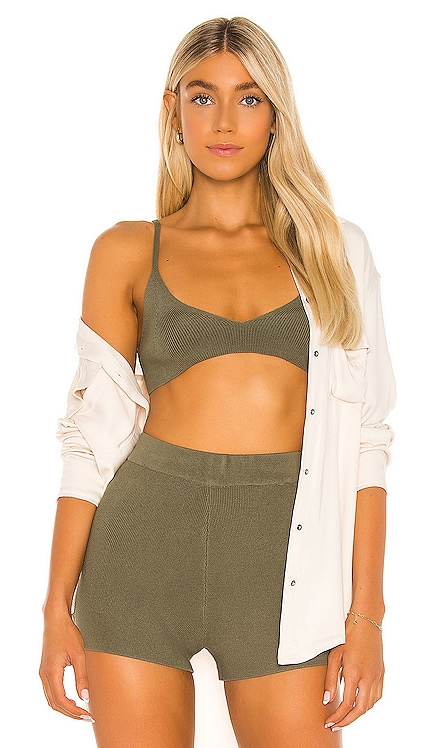 X REVOLVE Colette Bralette One Grey Day $88