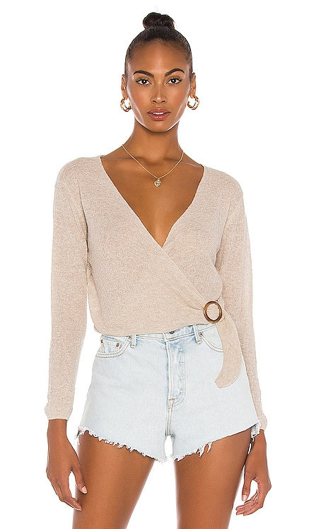 Benson Cross Front Top One Grey Day $148