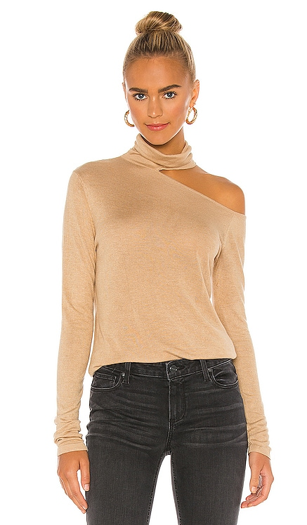 X REVOLVE Penny Long Sleeve Top One Grey Day $128 BEST SELLER
