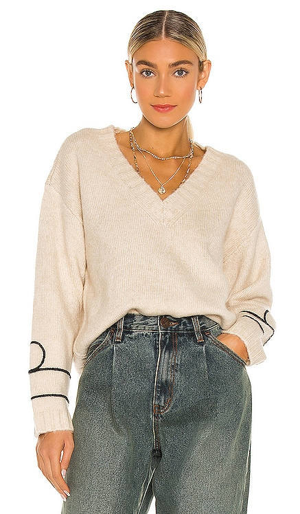 Off Duty Knitted Sweater One Teaspoon $167 NEW