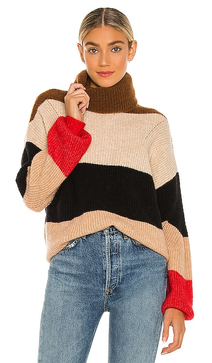 Stevie Stripe Wool Mix Sweater One Teaspoon $264 NEW