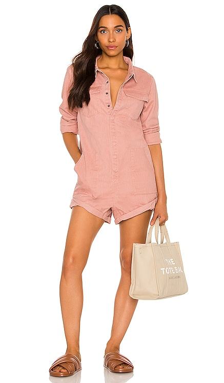 Washed Pink Prophecy Jumpsuit One Teaspoon $189