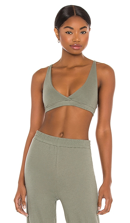 Organic Cotton High Point Bralette Only Hearts $46 NEW