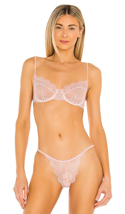 So Fine Lace Underwire Bra Only Hearts $77 NEW
