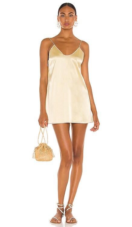 Satin Mini Dress Oseree $230 NEW