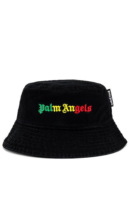 Miami Logo Bucket Hat Palm Angels $200 NEW