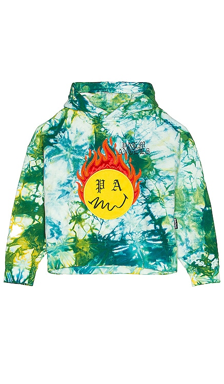 SUDADERA BURNING HEAD Palm Angels $1,190
