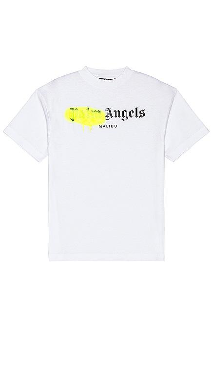 Malibu Sprayed Logo Tee Palm Angels $210 NEW