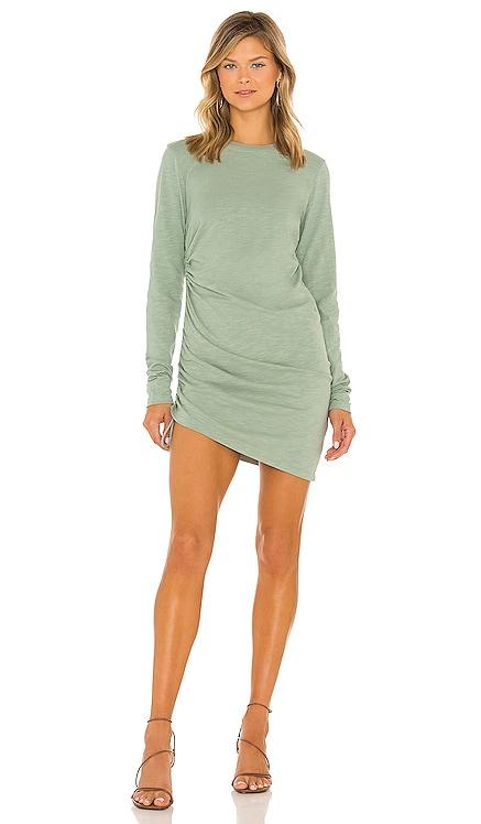 Shirred Mini Dress Pam & Gela $145