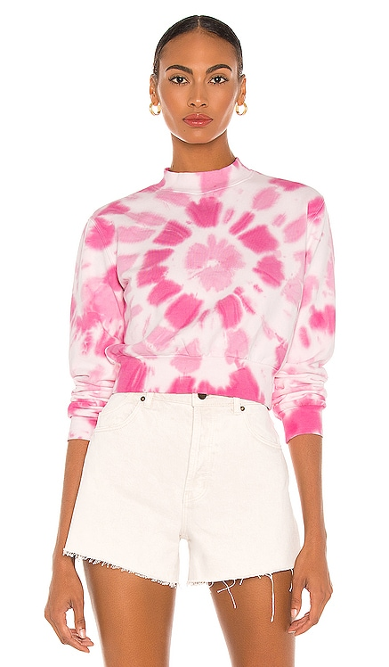 Tie Dye Crop Sweatshirt Pam & Gela $195 NEW