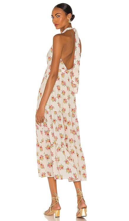 Octavia Dress Paloma Blue $419 NEW