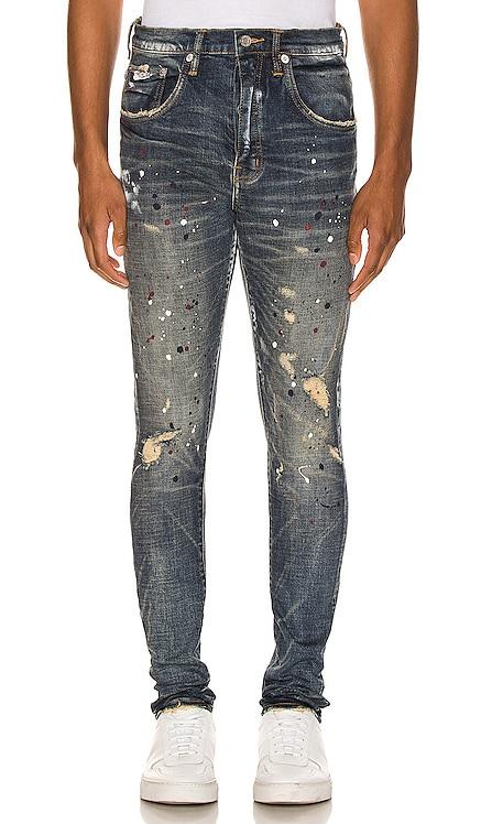 Dirty Distress Jeans Purple Brand $275