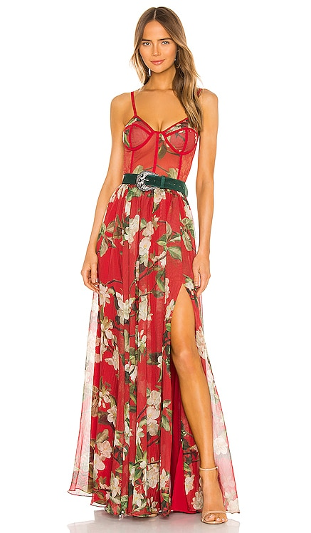 ROBE MAXI FLORAL PatBO $995 BEST SELLER