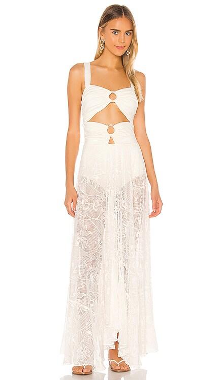 Lace Beach Dress PatBO $750 NEW