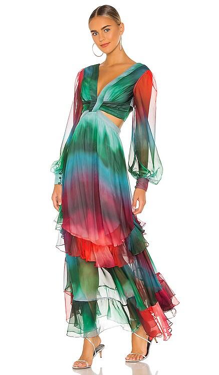 Sunset Cutout Maxi Dress PatBO $825 Collections
