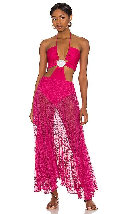 Cut Out Seashell Beach Dress PatBO $695 NEW