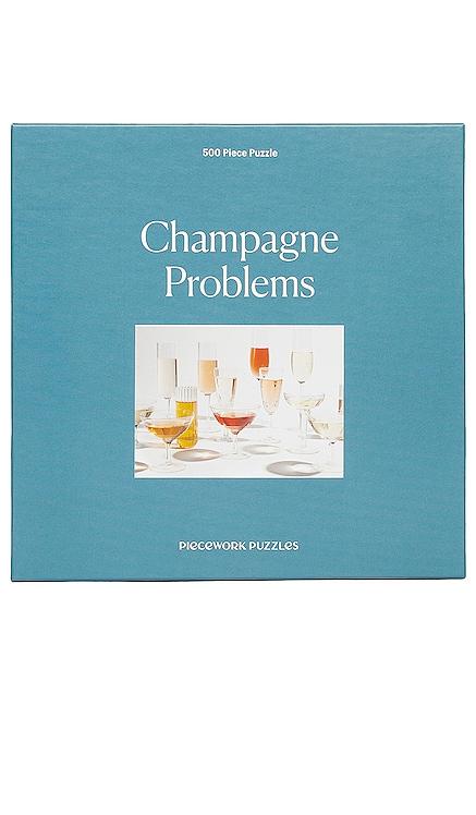 PUZLE DE 500 PIEZAS CHAMPAGNE PROBLEMS Piecework $26