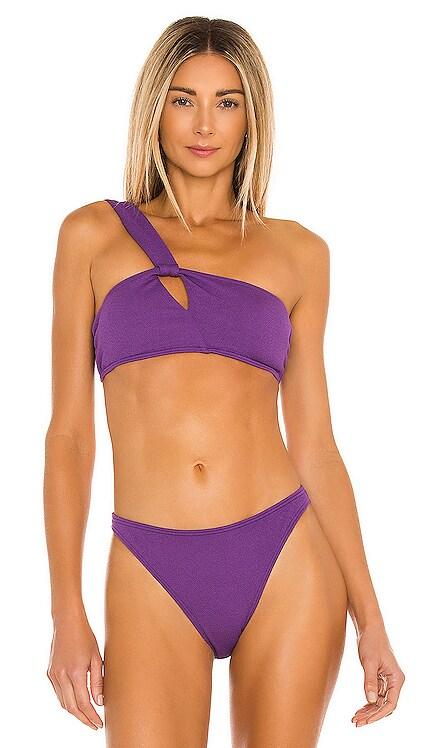 HAUT DE MAILLOT DE BAIN CROP Peony Swimwear $100 NOUVEAU