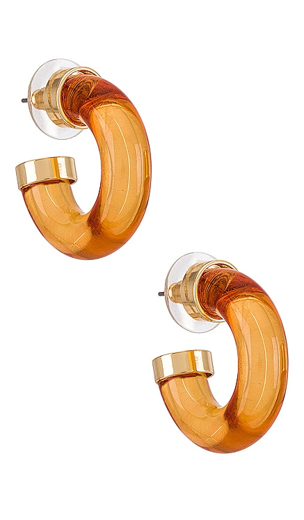 Amber Chubby Hoop petit moments $25