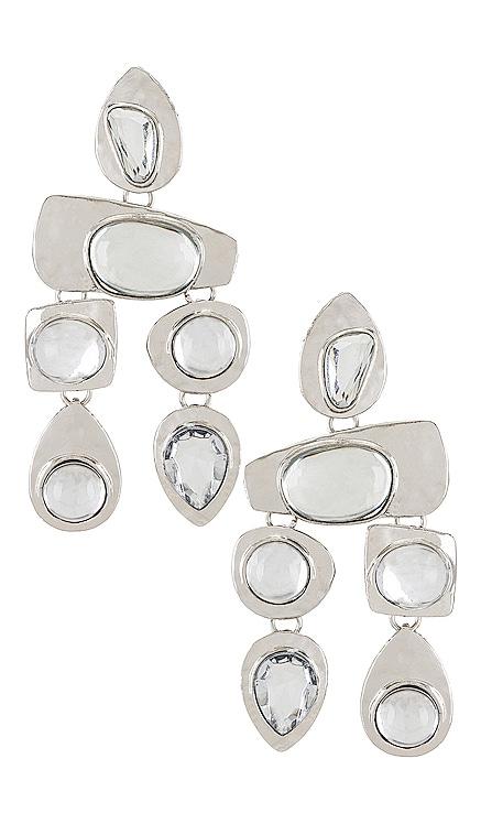 Stone Earrings petit moments $30 NEW