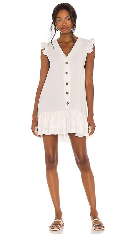 Marina Button Dress PQ $134 NEW