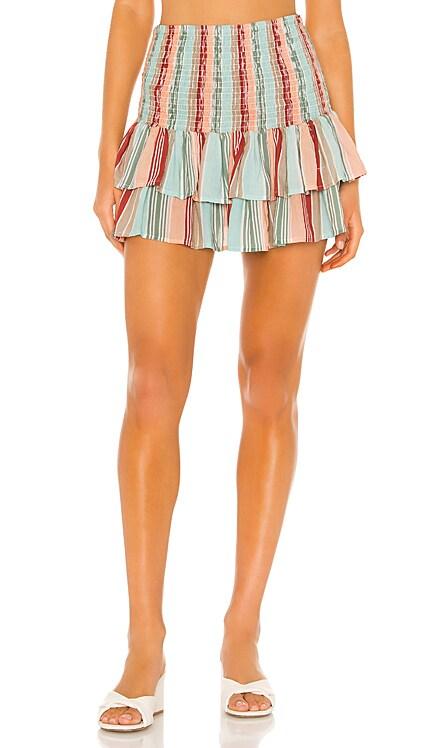 x Helen Owen Smocked Skirt PILYQ $128