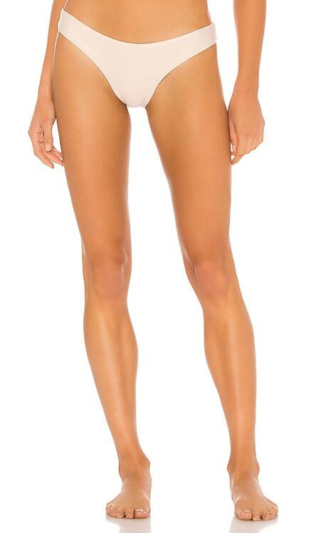 Basic Ruched Teeny Bikini Bottom PILYQ $68