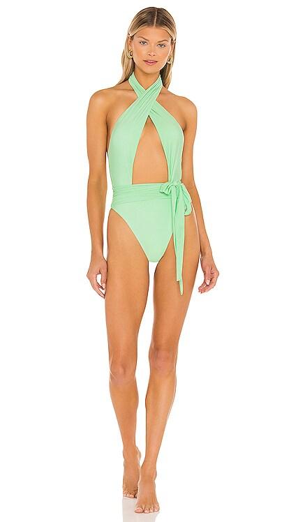 X REVOLVE Alex One Piece Bikini PQ $134 NEW