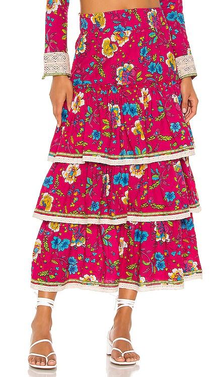 Layered Boho Skirt Pitusa $81