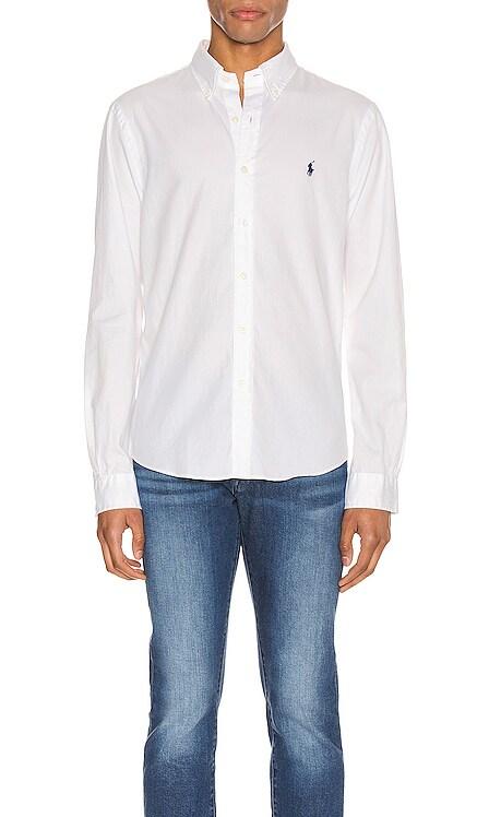 GD Chino Long Sleeve Button Up Shirt Polo Ralph Lauren $99