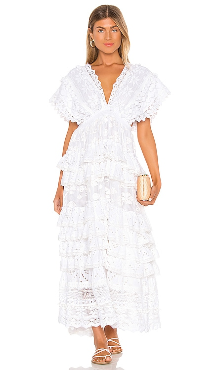 Le Savel Backless Tiered Maxi Dress Place Nationale $458
