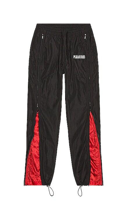 Blast Side Zip Track Pant Pleasures $125