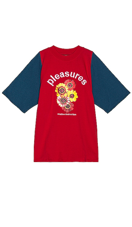 T-SHIRT MANCHES COURTES DESTRUCTION Pleasures $47