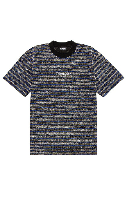 Disturbed Glitter Stripe Tee Pleasures $64