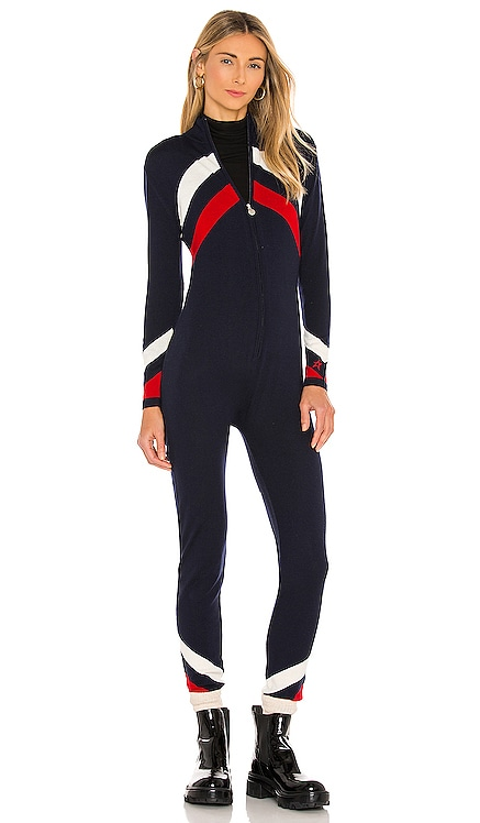 Chevron Suit Jumpsuit Perfect Moment $413