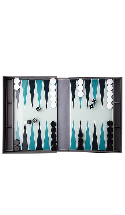 Classic Backgammon Set Printworks $47