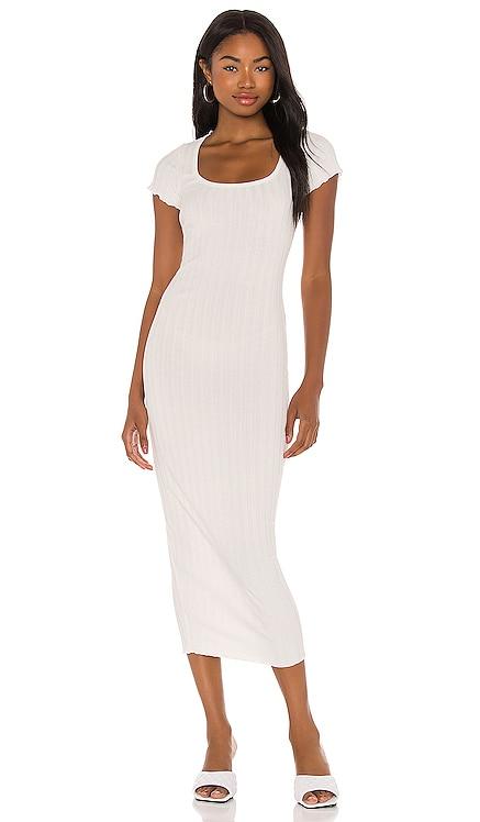 Ribbed Midi Dress Privacy Please $148 NEW