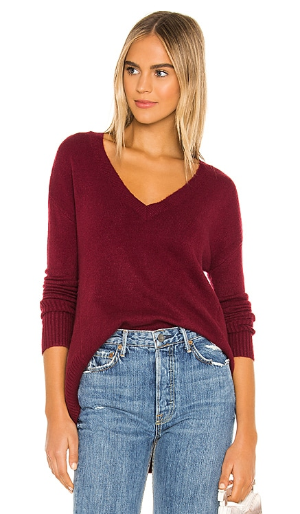 Falcon V Neck Sweater Privacy Please $46 (FINAL SALE)