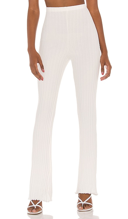 Ribbed Flare Pant Privacy Please $128 NEW