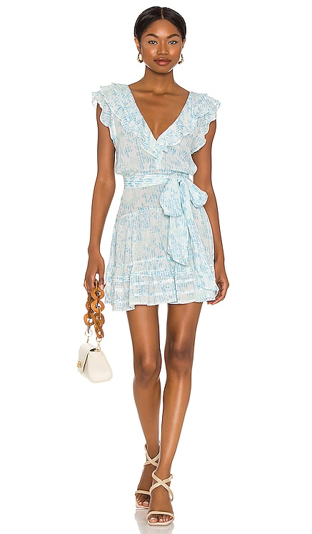 Della Mini Dress Poupette St Barth $330 NEW