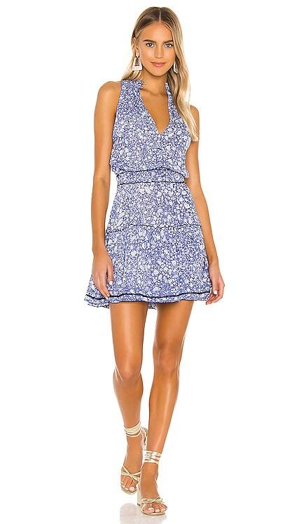 Inka Ruffled Mini Dress Poupette St Barth $280 BEST SELLER